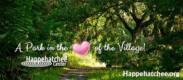 A park in the heart of the Village Happehatchee