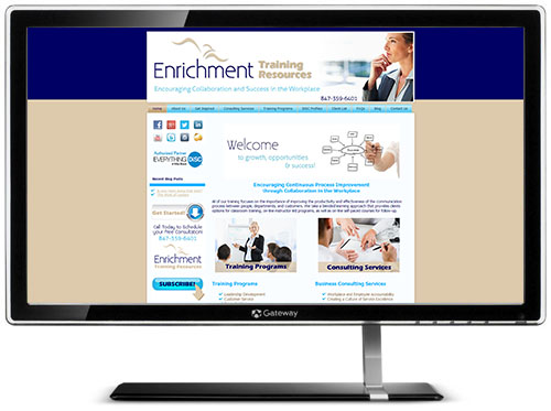 Enrichment Training Resources Website