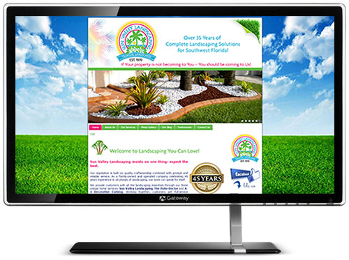 Sun Valley Landscaping SWFL Website
