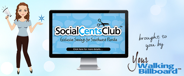 Social Cents Club Brought to You By Your Walking Billboard