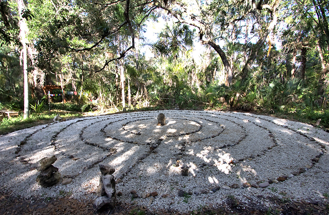 Happehatchee Labyrinth Walk